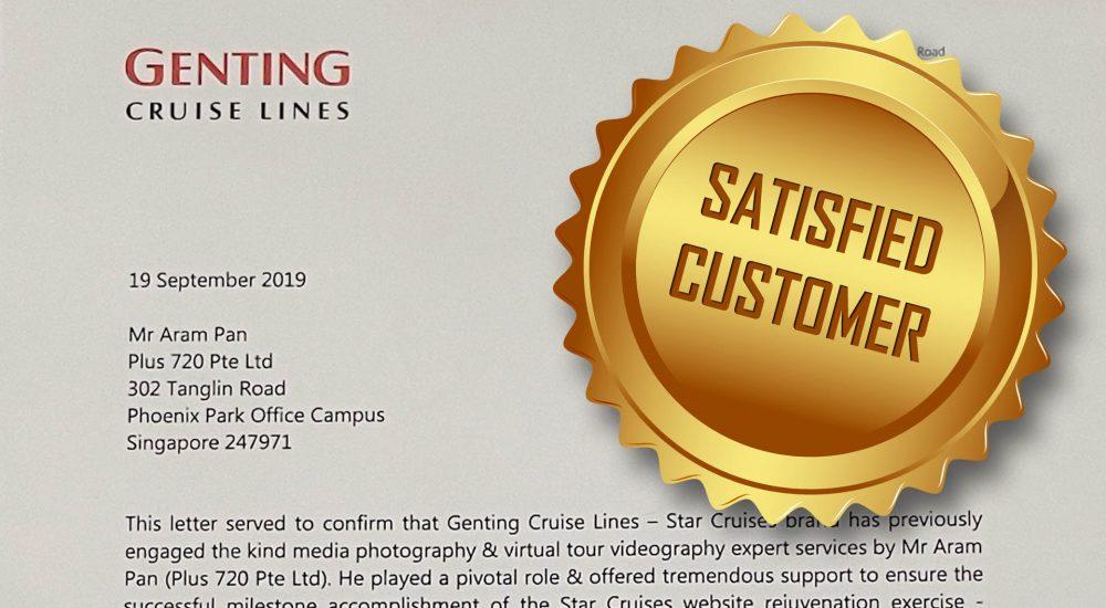 Client Endorsement: Genting Cruise Line